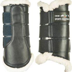 hkm dressyrskydd comfort svart