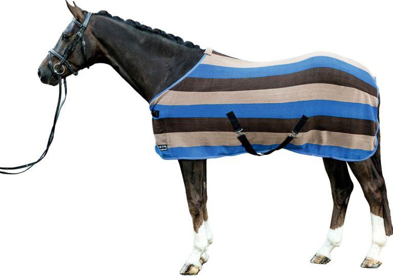 hkm fleecetäcke colour blå