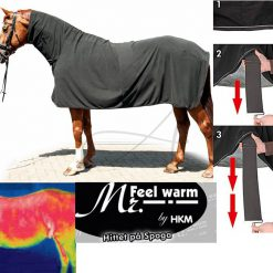 hkm mr feel warm fleecetäcke m hals