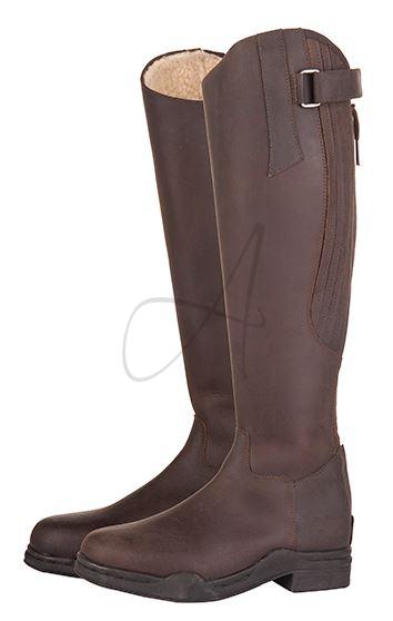 hkm vinterstövel country brun
